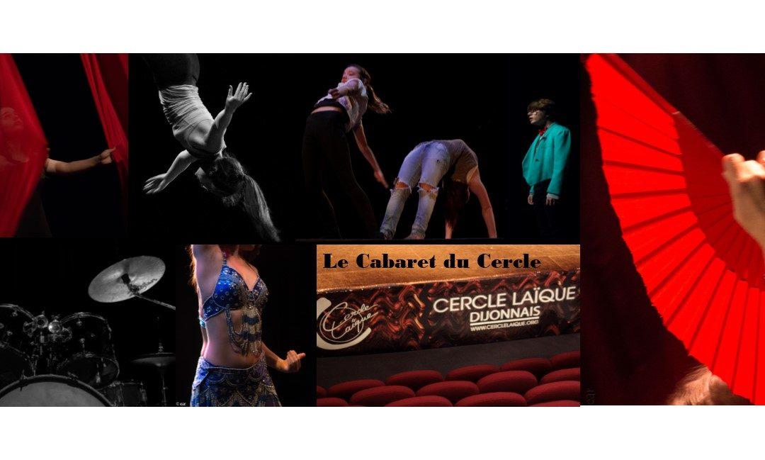 Le Cabaret du Cercle samedi 1er février 2020  à 20h00 théâtre des Feuillants