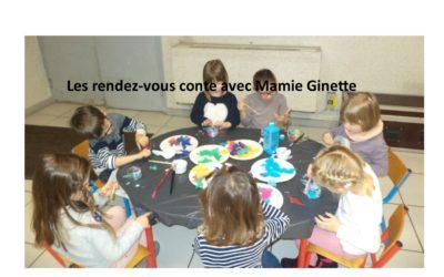 VACANCES D'HIVER ; animation CONTE avec Mamie Ginette LUNDI 24 FEVRIER