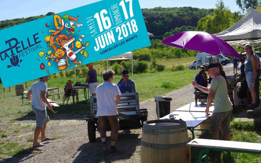 """Apéro """"appel à bénévoles"""" pour LA PELLE Festival mardi 15 mai à 20h00"""