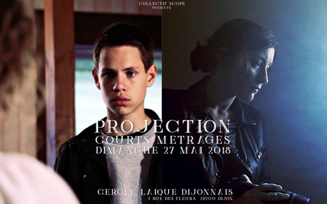 Dimanche 27 mai 17h00 Projection de courts métrages