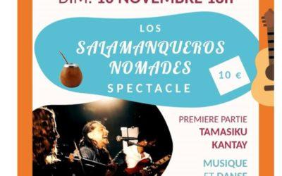 L'ARGENTINE s'invite au Cercle Laïque dans le cadre du festival des solidarités dimanche 10 novembre