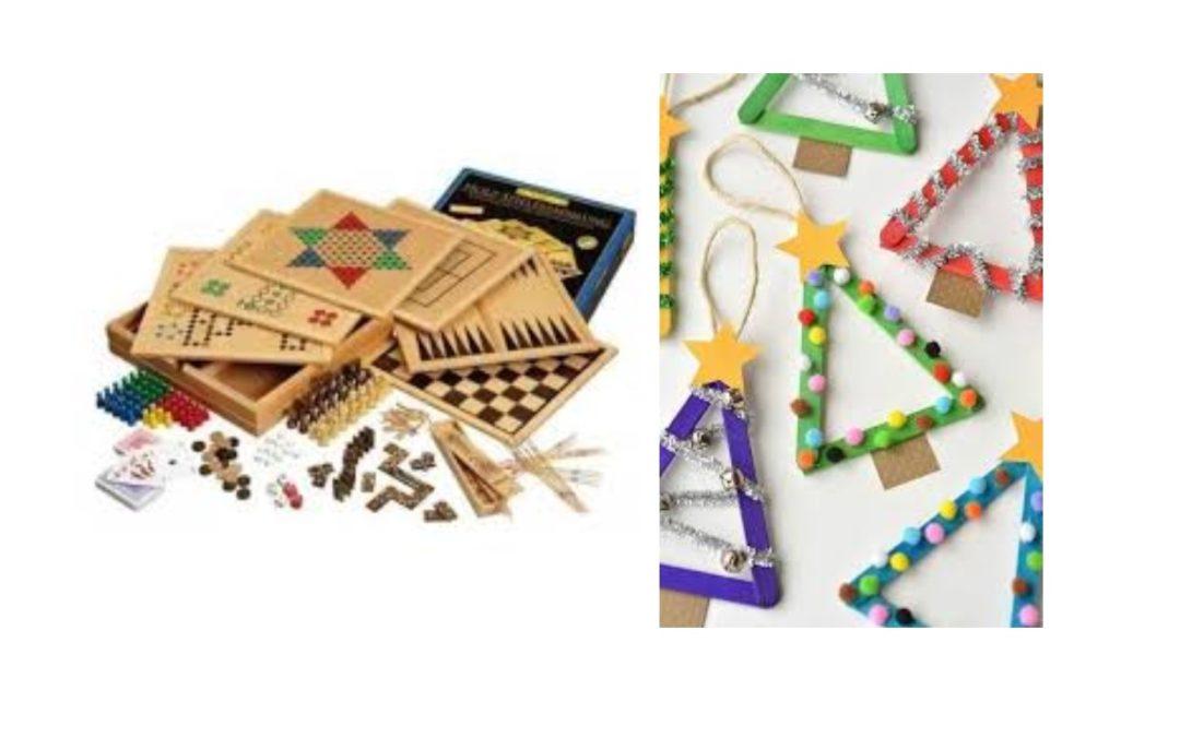 Atelier récréatif samedi 16 et atelier créatif mercredi 27 novembre à l'Espace Tivoli