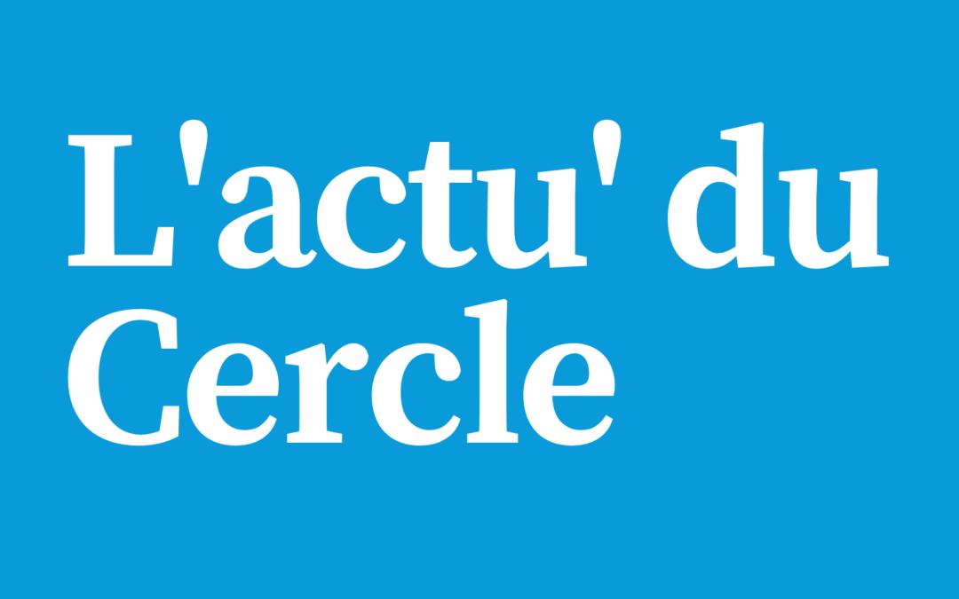 Notre première lettre d'actualité du Cercle Laïque Dijonnais en période de confinement.