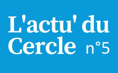 Notre 5ème lettre d'actualité du Cercle Laïque Dijonnais.