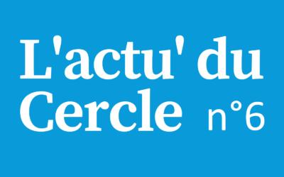 Notre 6ème lettre d'actualité du Cercle Laïque Dijonnais.