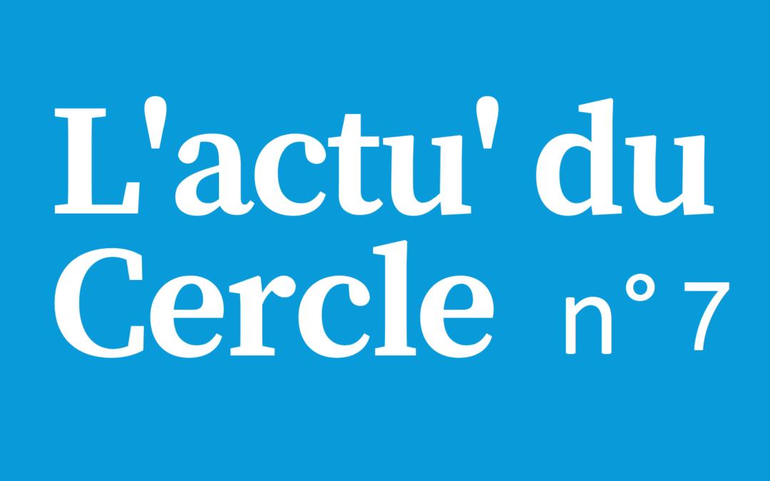 Notre 7ème lettre d'actualité du Cercle Laïque Dijonnais.