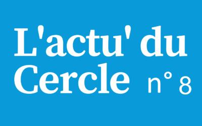 Notre 8ème lettre d'actualité du Cercle Laïque Dijonnais.
