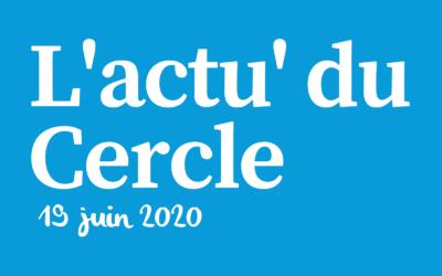 La lettre d'actu du Cercle Laïque Dijonnais du 19 juin 2020