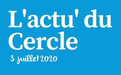 La lettre d'actu du Cercle Laïque Dijonnais du 3 juillet 2020